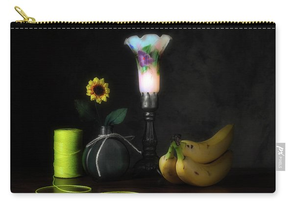 Banana Yellow Carry-all Pouch