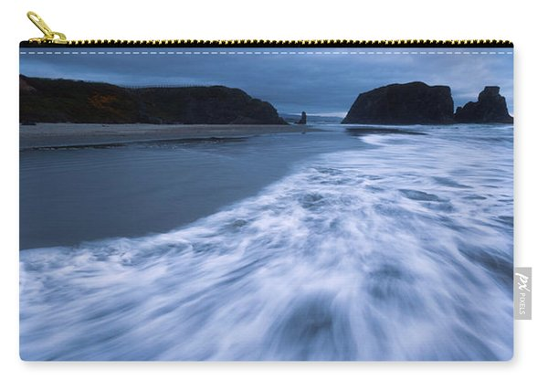 Bandon Blues With Moon Carry-all Pouch