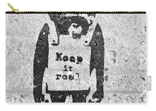 Banksy Chimp Keep It Real Carry-all Pouch