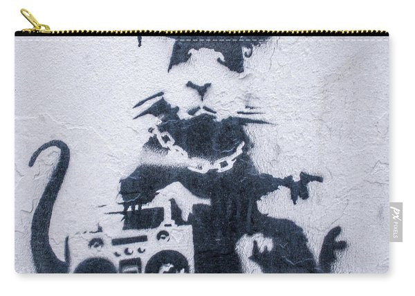 Banksy's Gansta Rat Carry-all Pouch