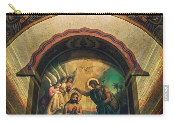 Baptism Of Christ By Richard Cuevas  Carry-all Pouch