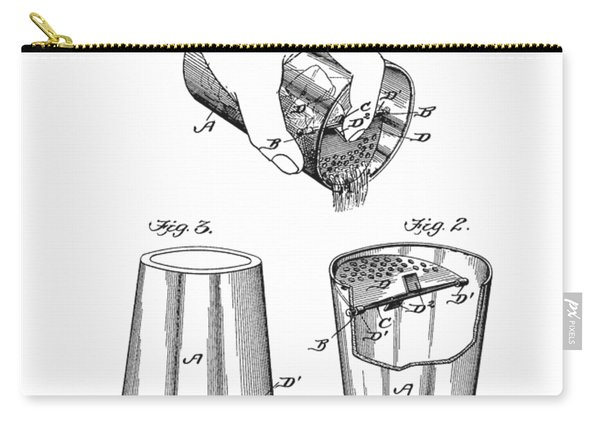 Bar Mixer Patent  Carry-all Pouch