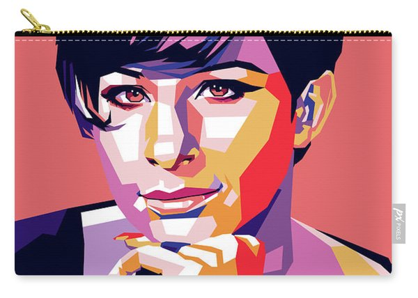 Barbra Streisand Pop Art Carry-all Pouch