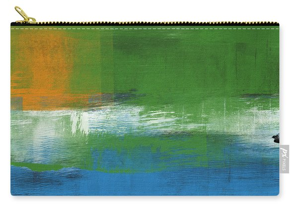 Barcelona- Abstract Art By Linda Woods Carry-all Pouch