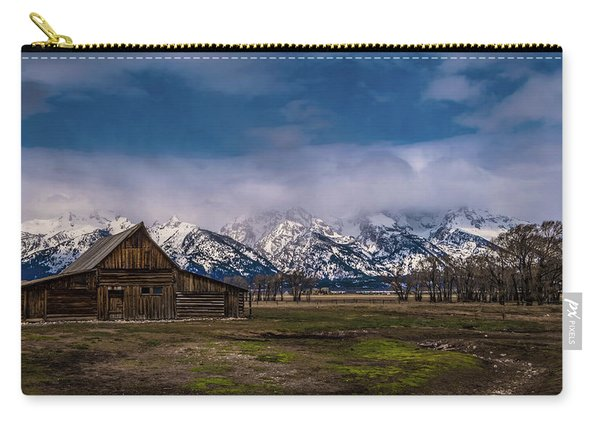 Barn At Mormon Row Carry-all Pouch