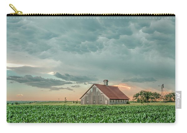 Barn In Sunset Carry-all Pouch