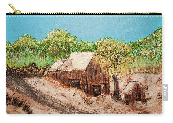 Barn On The Hill Carry-all Pouch