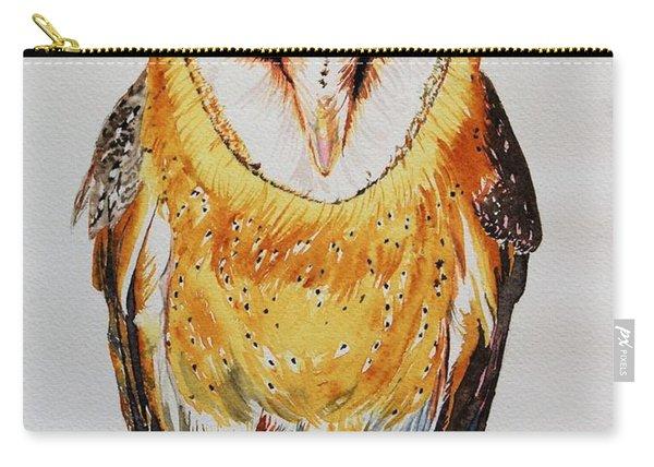 Barn Owl Drip Carry-all Pouch
