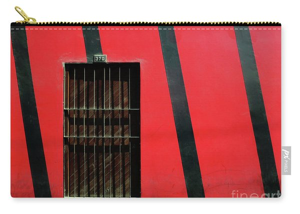 Bars And Stripes Carry-all Pouch