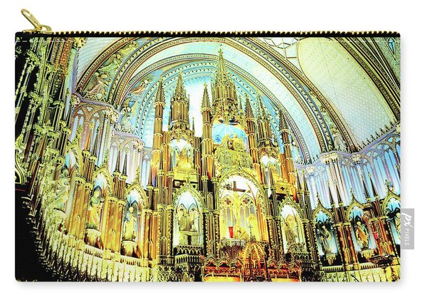 Basilica Of Notre Dame Montreal Quebec Carry-all Pouch