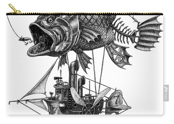Bass Airship Carry-all Pouch