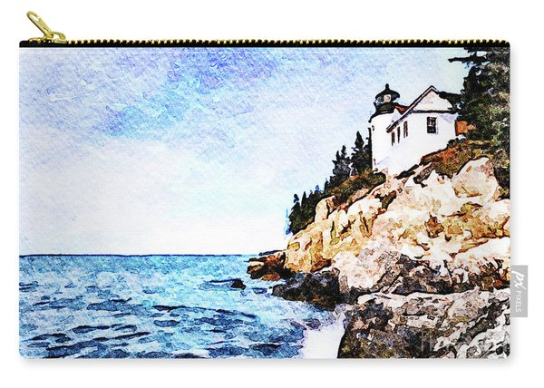 Bass Harbor Head Carry-all Pouch