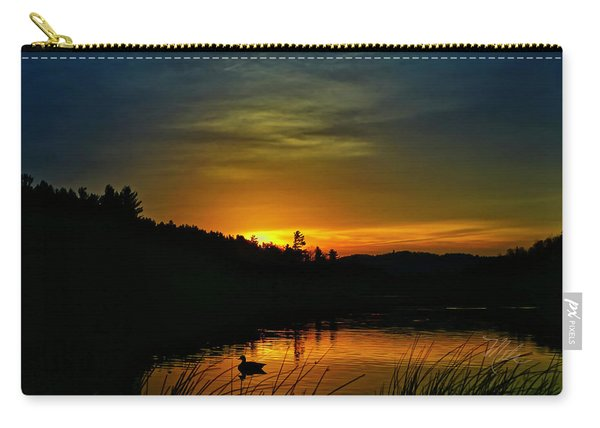 Bass Lake Sunrise Duck Carry-all Pouch