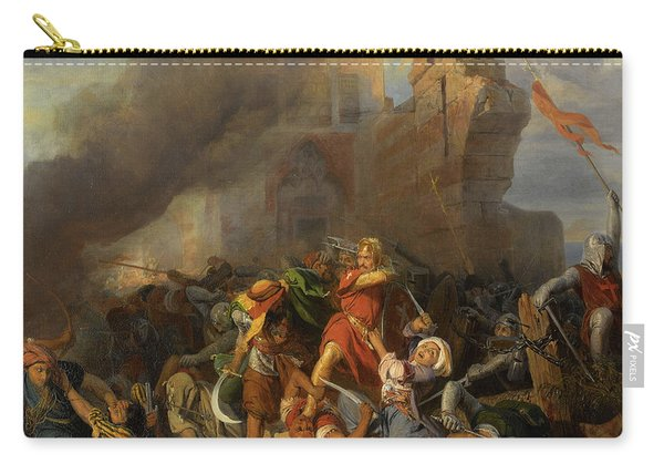Richard The Lionheart Carry All Pouches Fine Art America