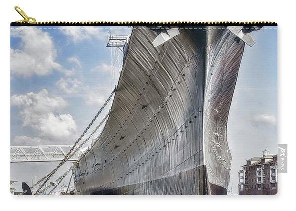 Battleship Uss Wisconsin Bb64 Carry-all Pouch