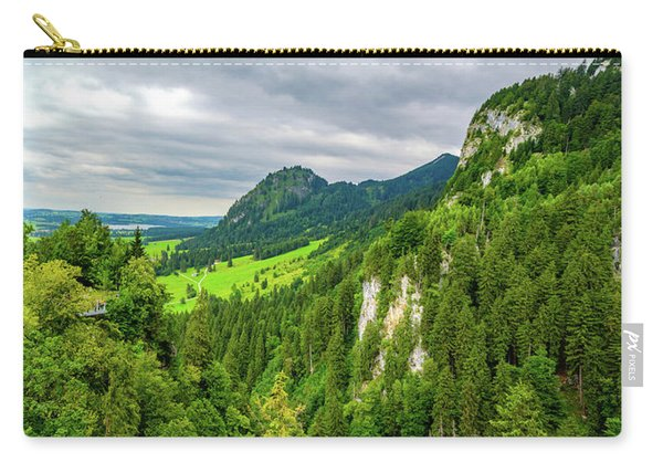 Bavarian Alps Panorama Carry-all Pouch