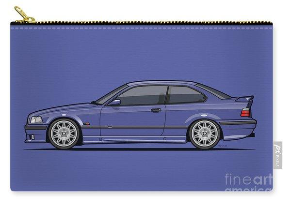 Bavarian E36 3-series M-drei Coupe Techno Violet Carry-all Pouch