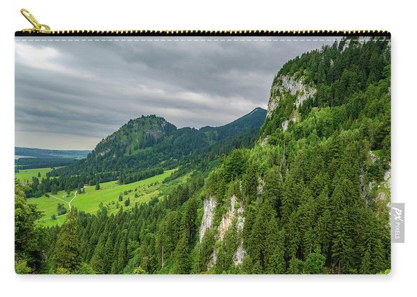 Bavarian Landscape II Carry-all Pouch