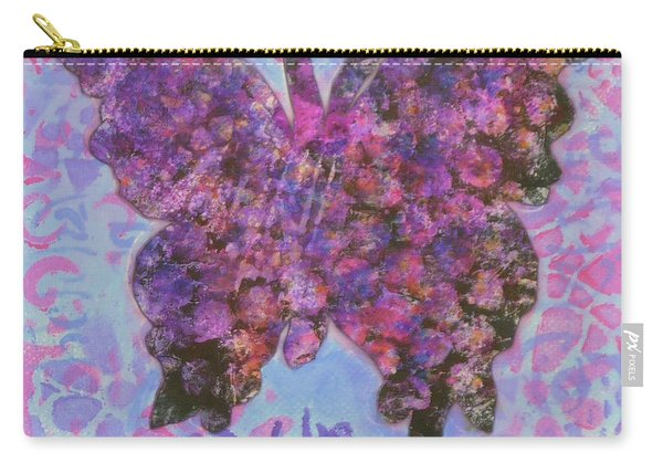 Be Happy 2 Butterfly Carry-all Pouch