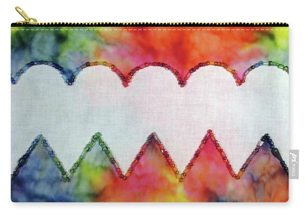 Be Still My Beaded Hearts Carry-all Pouch