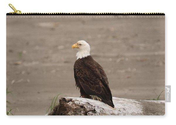 Beach Bald Eagle Carry-all Pouch