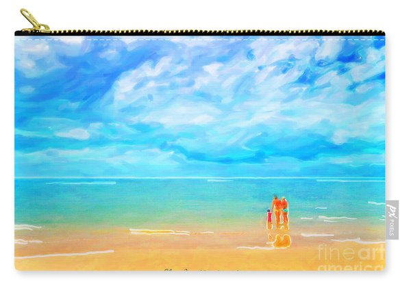 Beach Blues II Carry-all Pouch