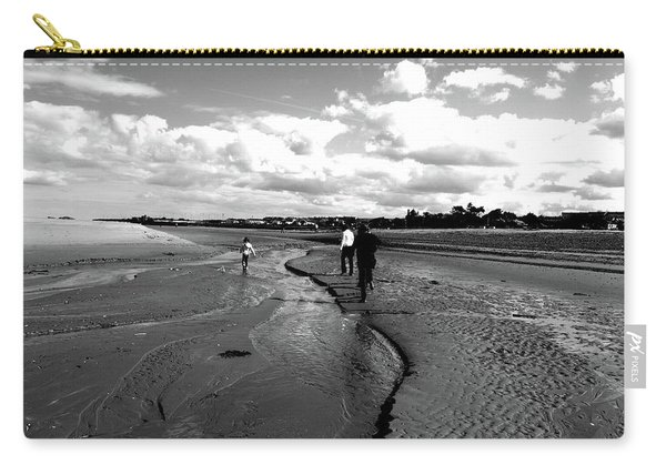 Carry-all Pouch featuring the photograph Beach by Edward Lee