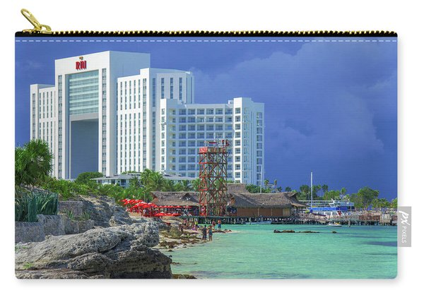 Beach Life In Cancun Carry-all Pouch