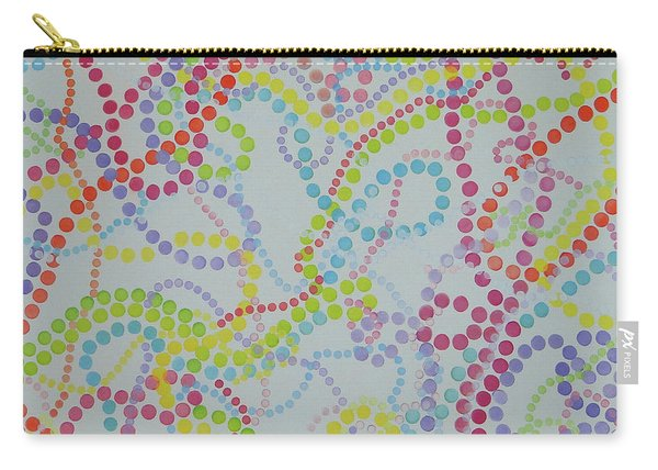 Beads And Pearls - Happy Day Carry-all Pouch