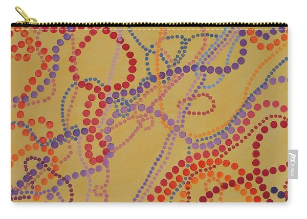 Beads And Pearls - Spicy 2 Carry-all Pouch