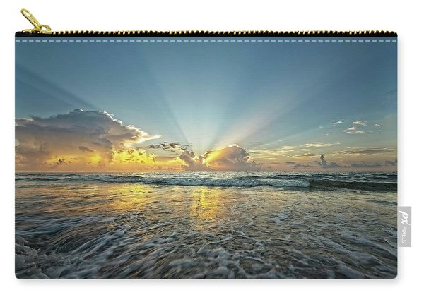 Beams Of Morning Light 2 Carry-all Pouch