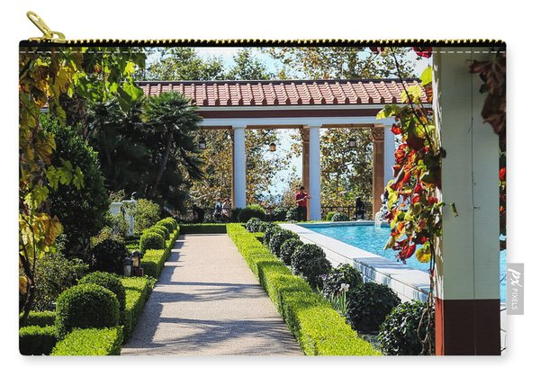 Beautiful Courtyard Getty Villa  Carry-all Pouch