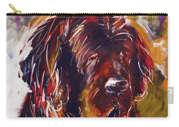 Beautiful Dog Painting  Carry-all Pouch