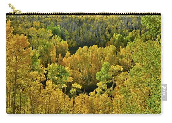 Beautiful Fall Colors At Woods Lake State Wildlife Area Carry-all Pouch