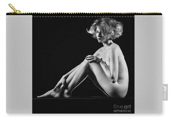 Beautiful Nude Woman Fineart Style Carry-all Pouch