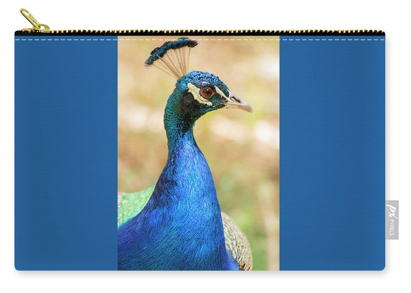 Carry-all Pouch featuring the photograph Beautiful Peacock by Rob D Imagery