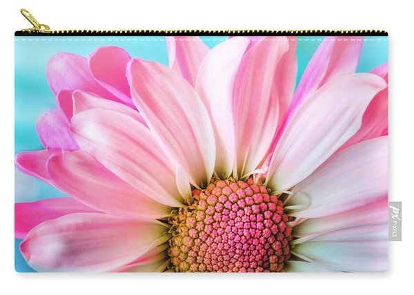 Beautiful Pink Flower Carry-all Pouch