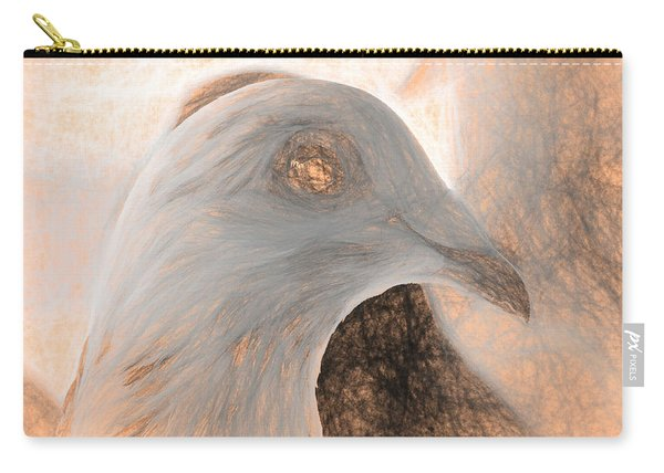 Carry-all Pouch featuring the photograph Beautiful Racing Pigeon Da Vinci by Don Northup