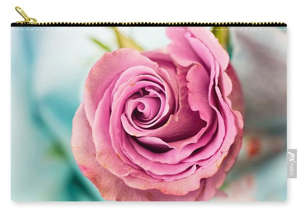 Beautiful Vintage Rose Carry-all Pouch