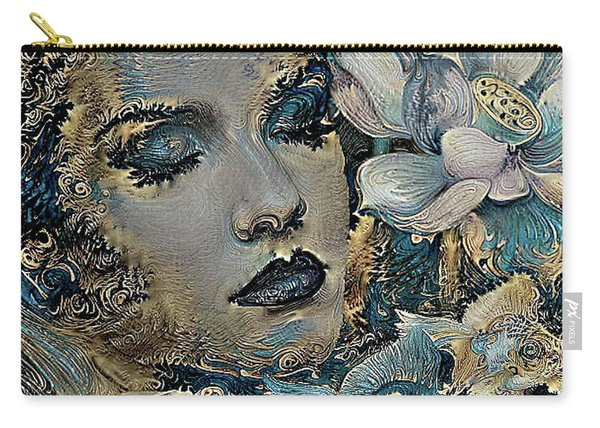 Beauty Nestled In Your Bloom 003 Carry-all Pouch