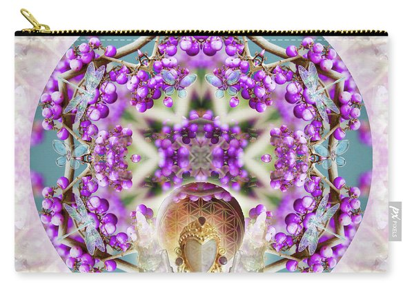 Callicarpa Carry-all Pouch