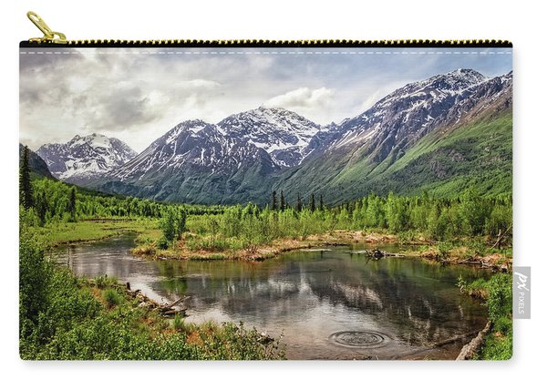Beaver Pond, Eagle River Ak Carry-all Pouch