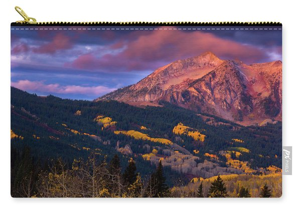 Carry-all Pouch featuring the photograph Beckwith At Sunrise by John De Bord