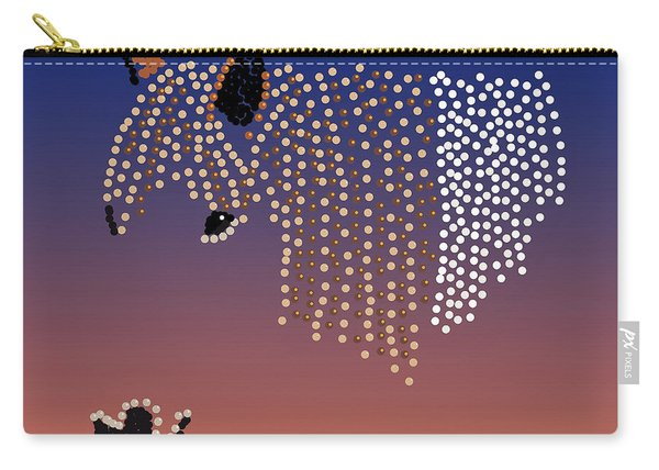 Bedazzled Horse's Mane Carry-all Pouch