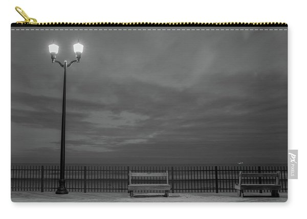 Before Dawn On The Boards Carry-all Pouch