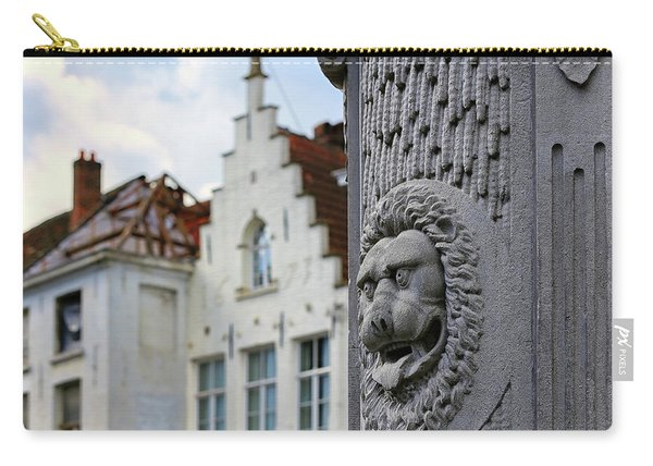 Belgian Coat Of Arms Carry-all Pouch