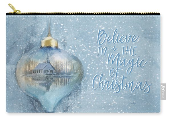 Believe In The Magic - Hope Valley Art Carry-all Pouch