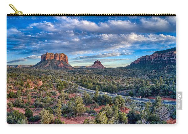 Bell Rock Scenic View Sedona Carry-all Pouch