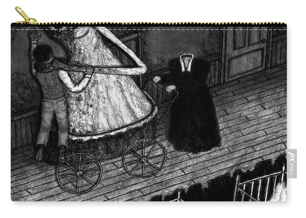 Bella The Nightmare Carriage - Artwork Carry-all Pouch
