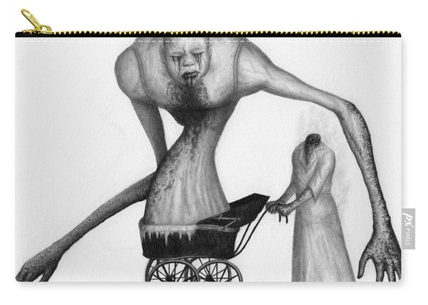 Bella The Nightmare Carriage Updated - Artwork Carry-all Pouch